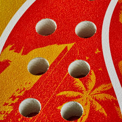 Beach tennis set 700 oranje - 151369
