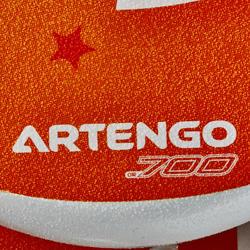 Beach tennis set 700 oranje - 151379