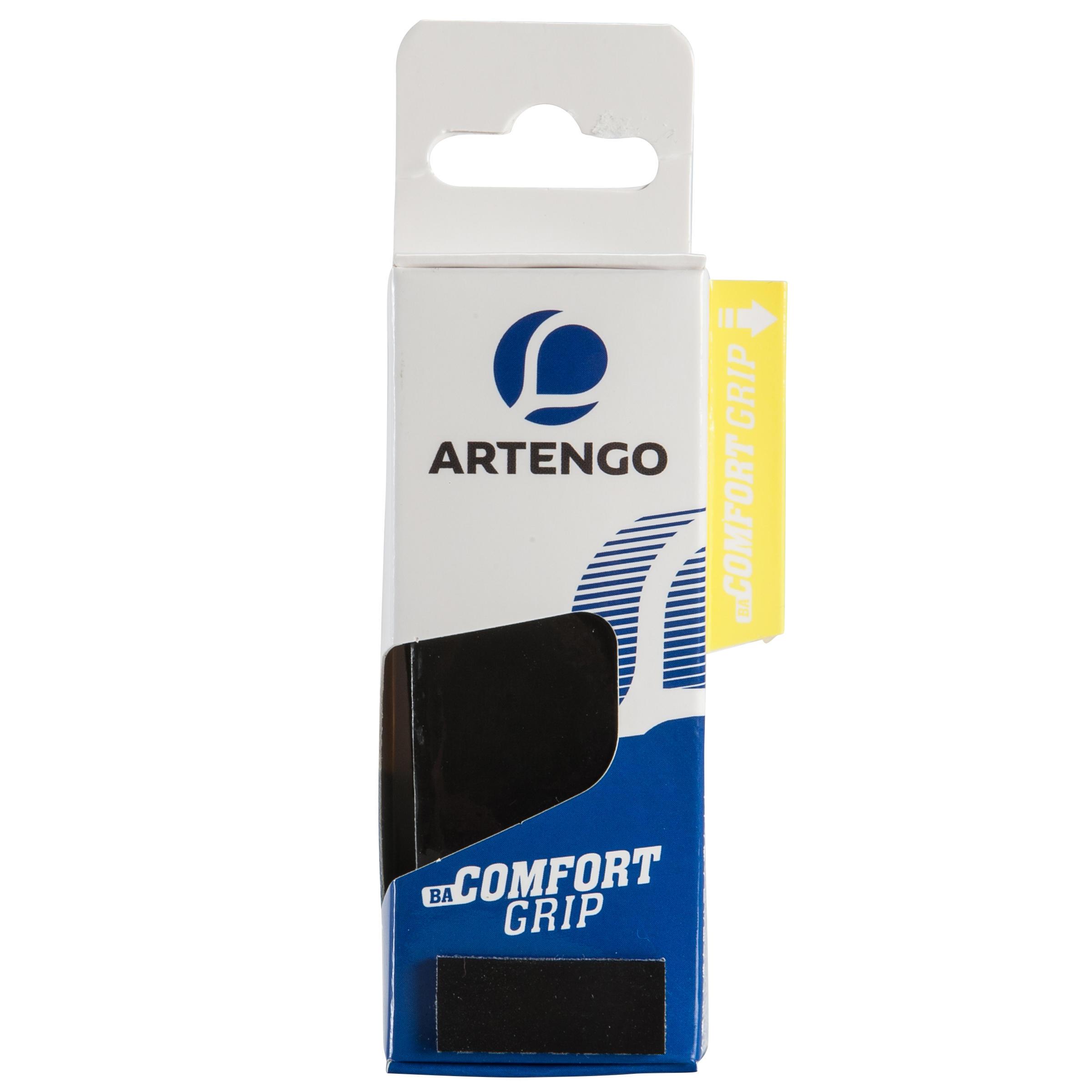 Artengo Badminton grip Comfort Grip zwart 1 stuk