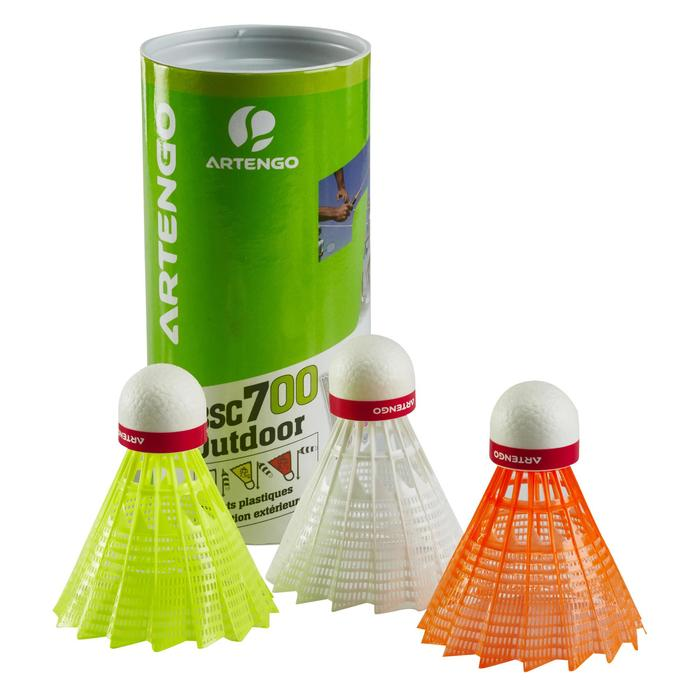 VOLANTS DE BADMINTON OUTDOOR x 3 - - 151409