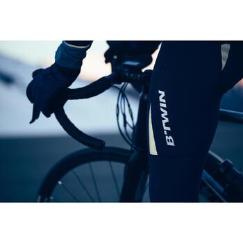 Warme lange fietsbroek 500 voor toerfietsers, herenmodel