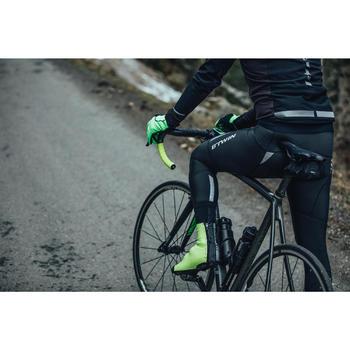 Lange Fahrrad-Trägerhose Rennrad 900 Winter Herren
