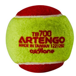 Tennisbal TB700 rood