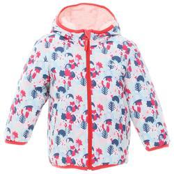 嬰幼兒雙面保暖雪橇外套 - 淺粉色