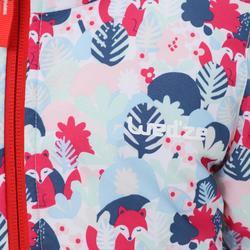 Babies' Skiing/Sledging Reversible Jacket Warm - Pastel Pink