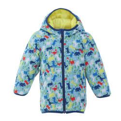 Baby Skiing/Sledging Reversible Jacket Warm - Yellow