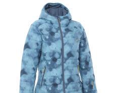 迪卡儂女防水保暖羽絨滑雪外套