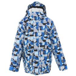 男童外套SNB JKT 500 BOY-藍色