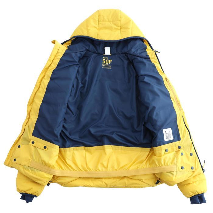 男款保暖滑雪羽絨外套SKI-P JKT 500