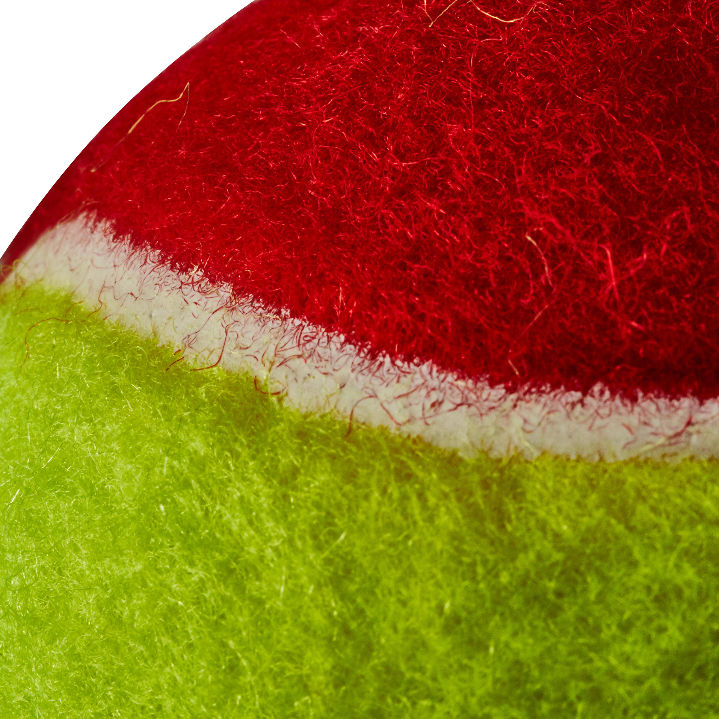 TENNIS BALL BEGINNER JUNIOR TB100 - RED