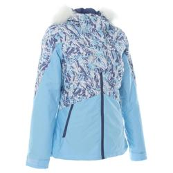 WOMEN'S DOWNHILL SKI JACKET 180 - BLUE