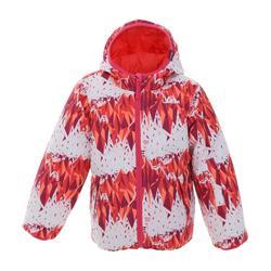 青少年保暖雙面滑雪外套SKI-P JKT 100
