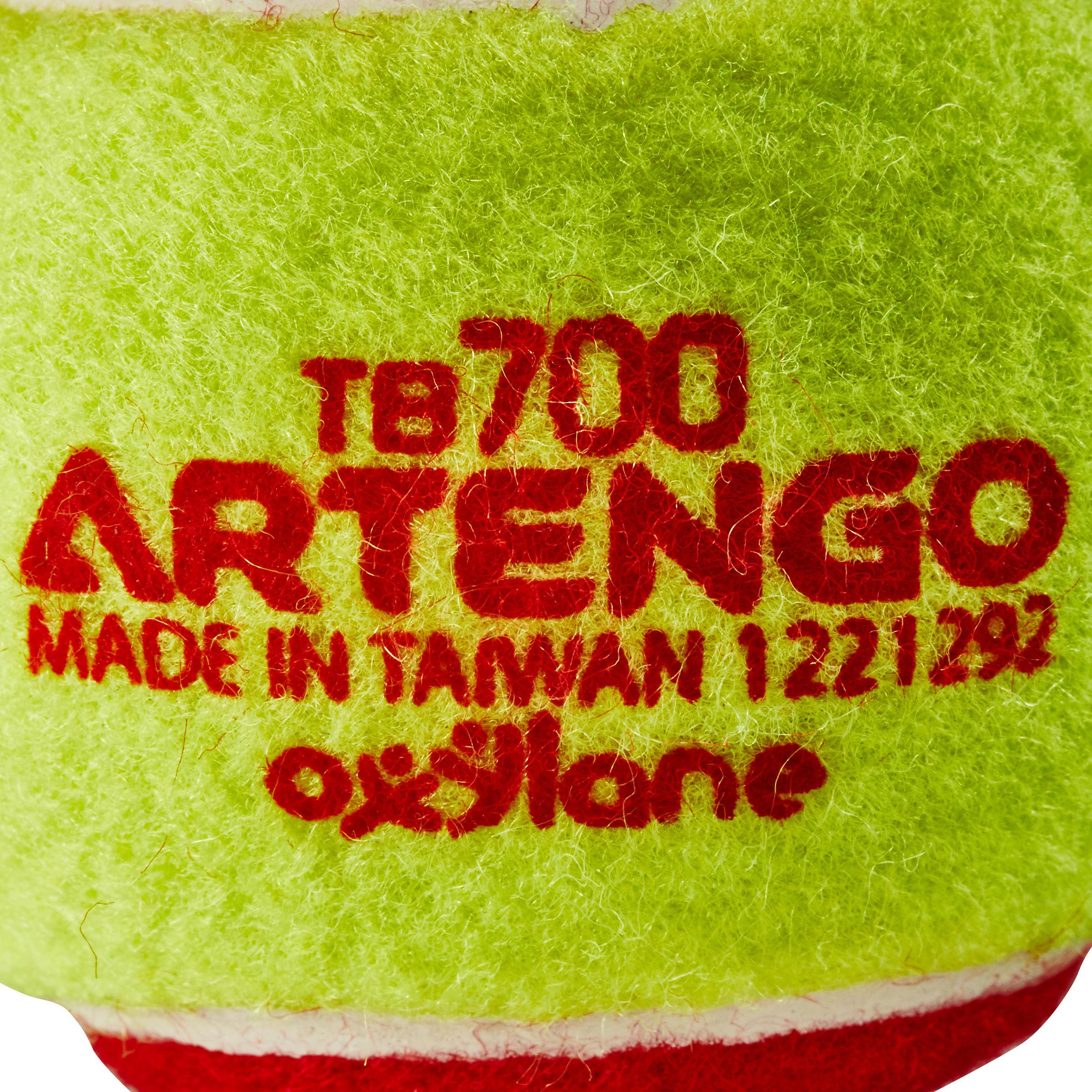 BALLE DE TENNIS TB700 ROUGE