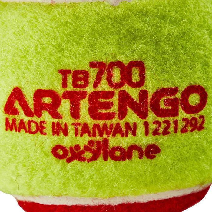 BALLE DE TENNIS TB100 ROUGE - 151488