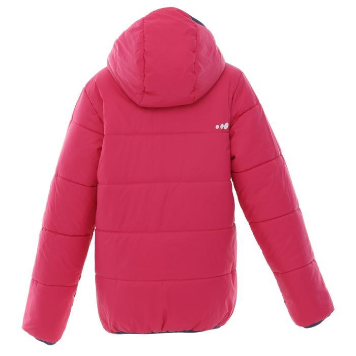 CHILDREN'S SKI JACKET WARM REVERSE 100 - PINK