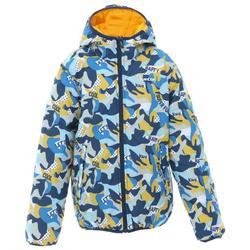 兒童保暖雙面滑雪外套SKI-P JKT 100黃色