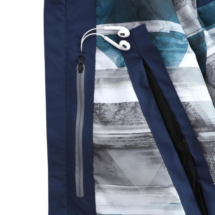男款自由式滑雪外套SFR 500 - 藍色