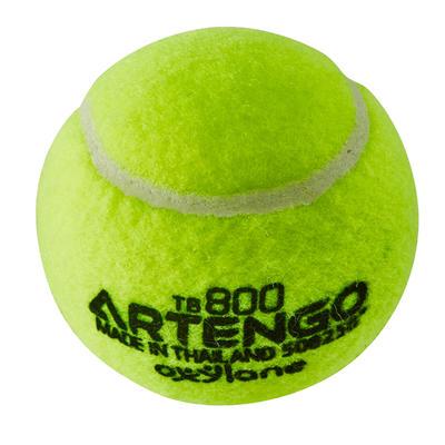 BALLE DE TENNIS TB800 JAUNE