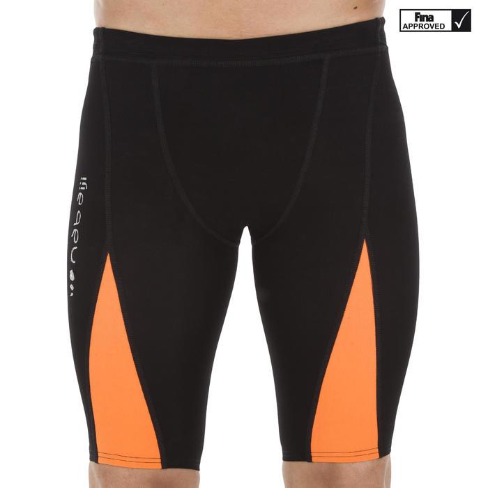 Wedstrijdjammer voor heren Fina 900 Fast zwart oranje