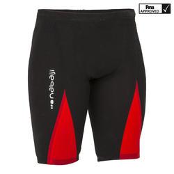 Wedstrijdjammer voor heren Fina Fast 990 zwart/rood