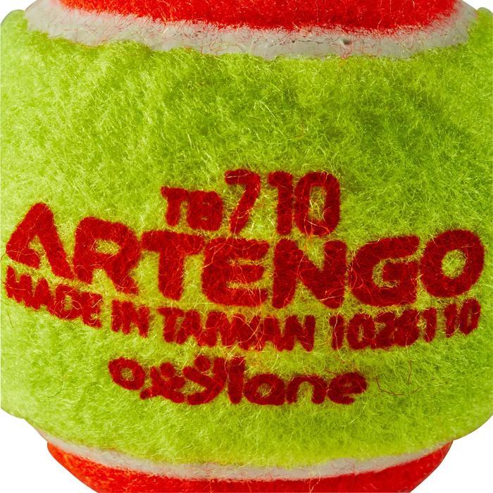 BALLE DE TENNIS TB110 ORANGE - 151502
