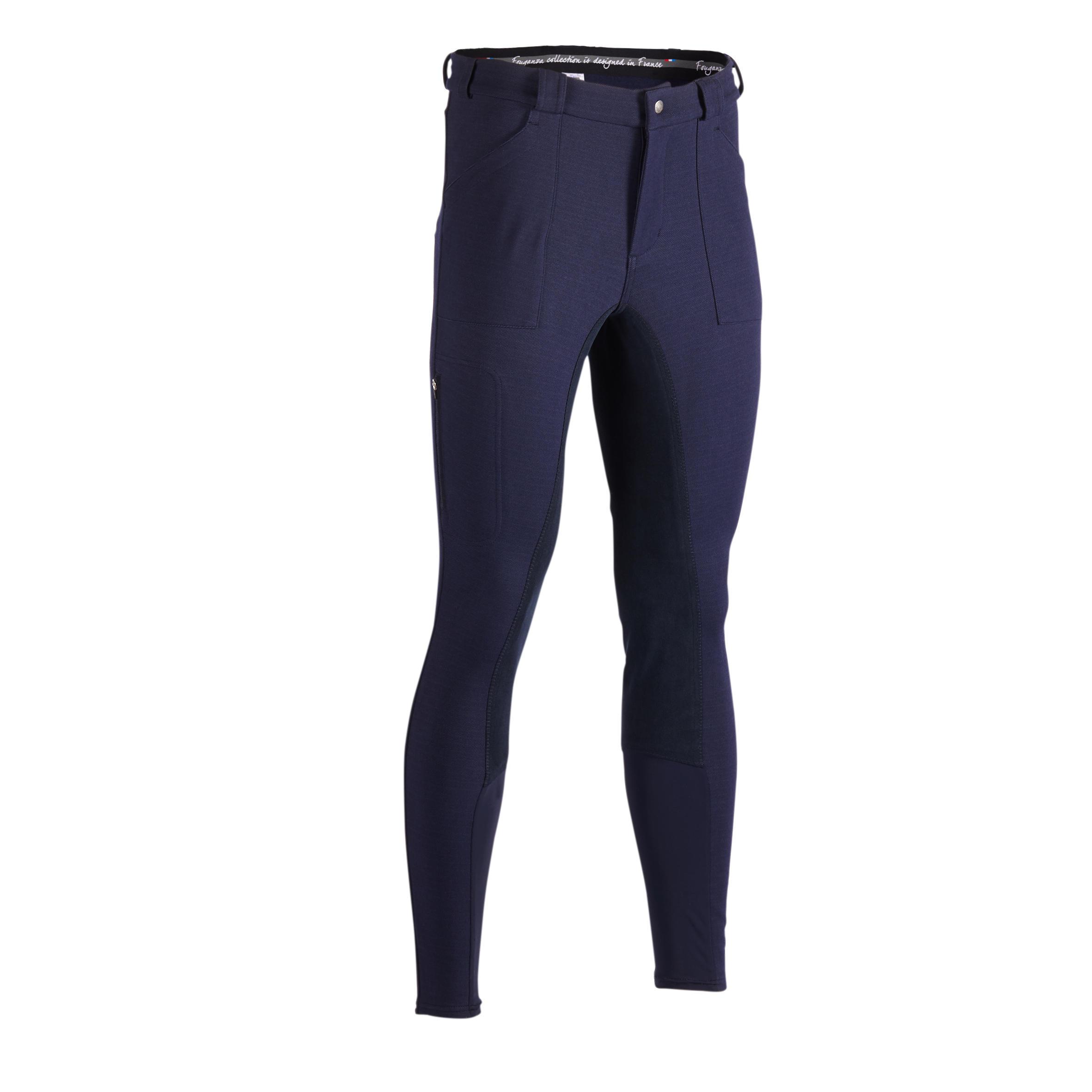 Pantalon echitație WARM 180
