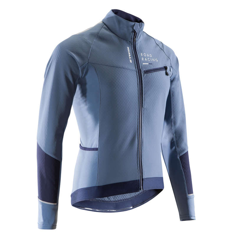 MEN COLD WEATHER ROAD RACING APPAREL Cycling - RC 500 Winter Road Cycling Jacket - Grey  VAN RYSEL - Cycling