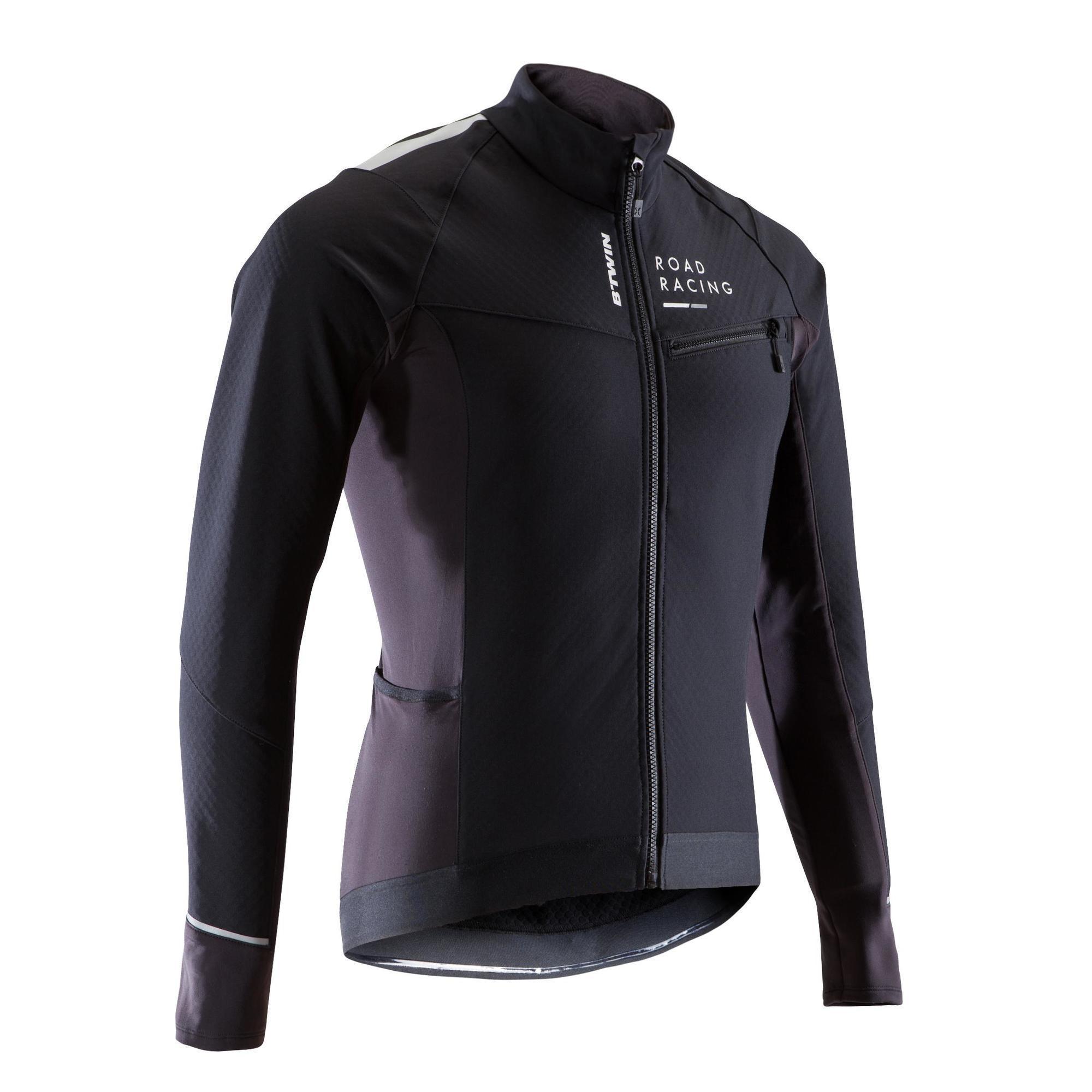 B'twin Winter fietsjas voor heren wielrennen wielertoerisme