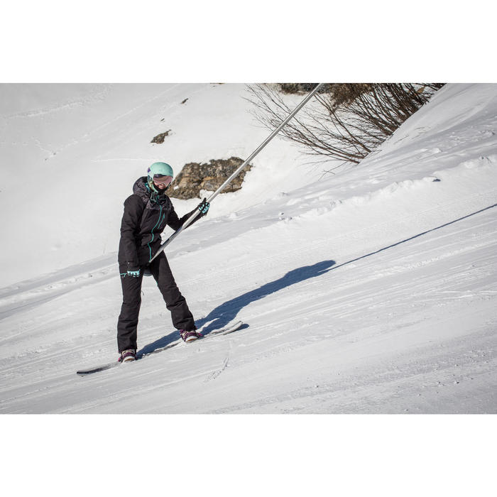 Pack Snowboard freestyle, mujer, Endzone 500, violeta