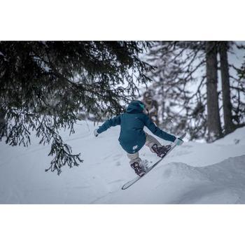Veste de snowboard (et de ski) femme SNB JKT 500 pétrole sombre