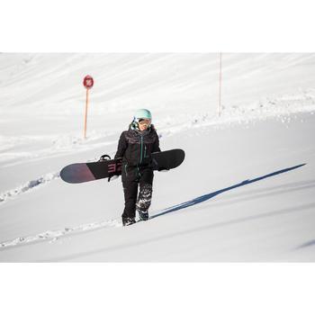 Fijaciones de snowboard hombre y mujer Illusion 700 negro y gris