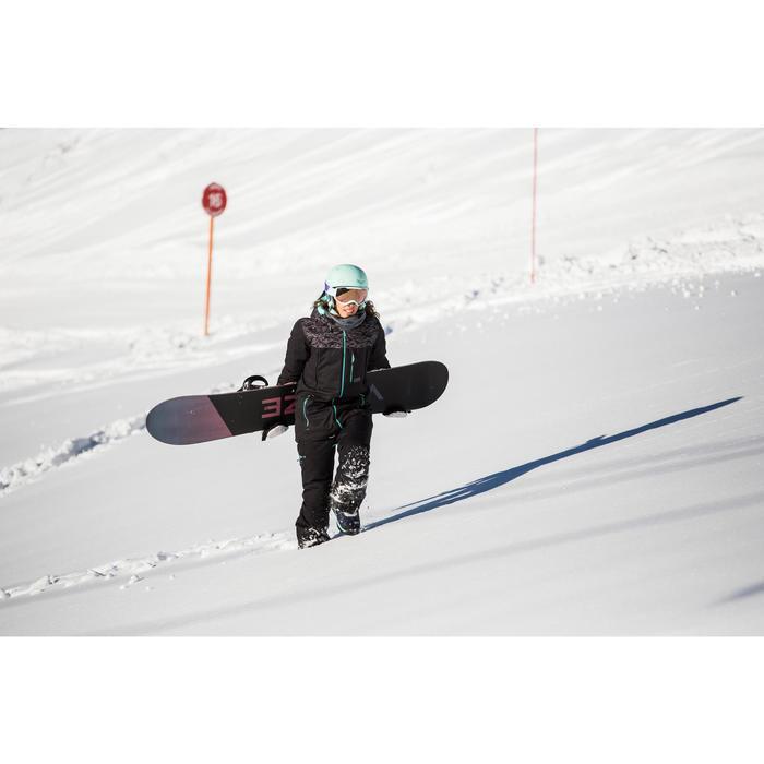 Fixations de snowboard homme et femme Illusion 700 noires et grises