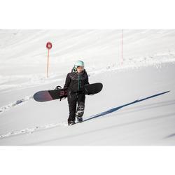Snowboard- en skibroek voor dames SNB PA 500 zwart