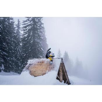 Snowboardjacke SNB JKT 500 Herren Print schwarz