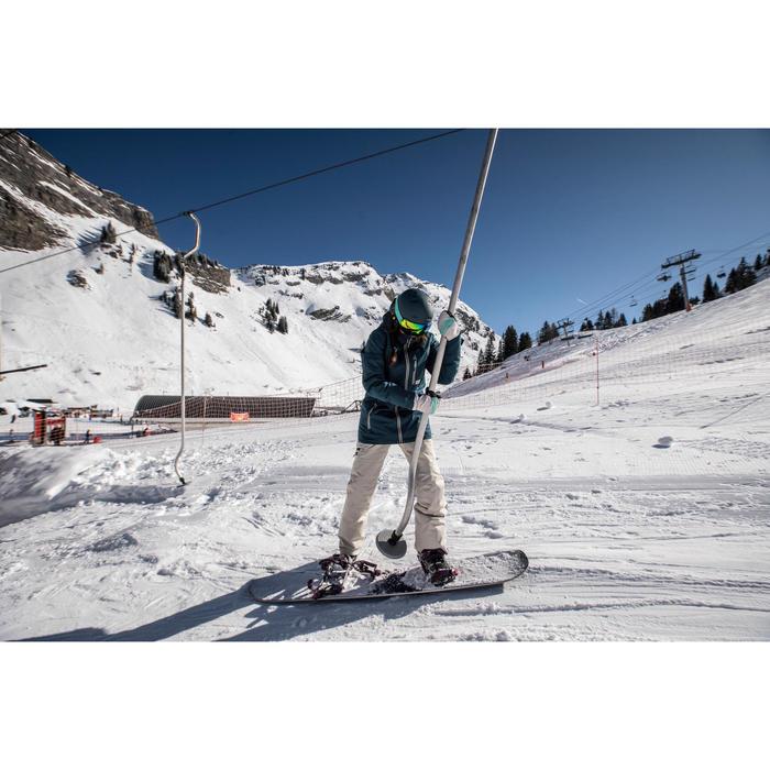 Snowboardjacke Skijacke SNB 500 Damen dunkelpetrol