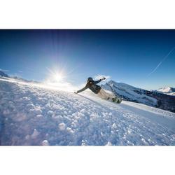 Set met snowboard voor piste & freeride, dames, Serenity 500