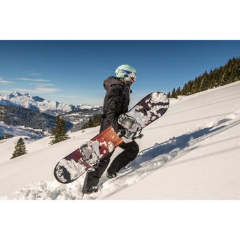 Casque de snowboard et de ski adulte et junior H-FS 300 bleu clair