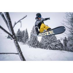 Snowboardhose SNB PA 500 Herren gelb