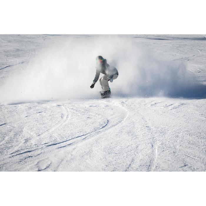 Ski- und Snowboardjacke SNB 500 Damen petrol