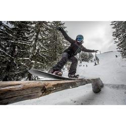 Snowboard-Set Freestyle Endzone 500 Damen violett