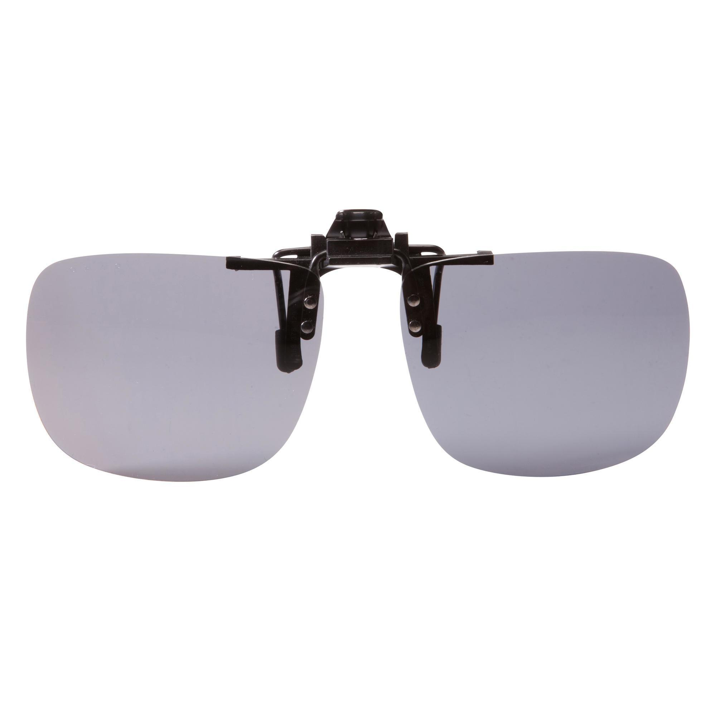 Sonnenclip für Korrekturbrillen MH OTG 120 L polarisierend Kategorie 3 | Uhren > Keramikuhren | Grau | Quechua