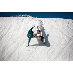 Moufle de snowboard 2 EN 1 (et de ski) SNB MI 500 lin