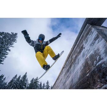 Snowboard- en skibroek voor heren SNB PA 500 honing