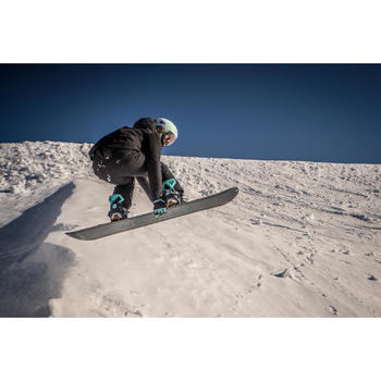 Ski-snowboardhelm voor volwassenen en kinderen H-FS 300 lichtblauw
