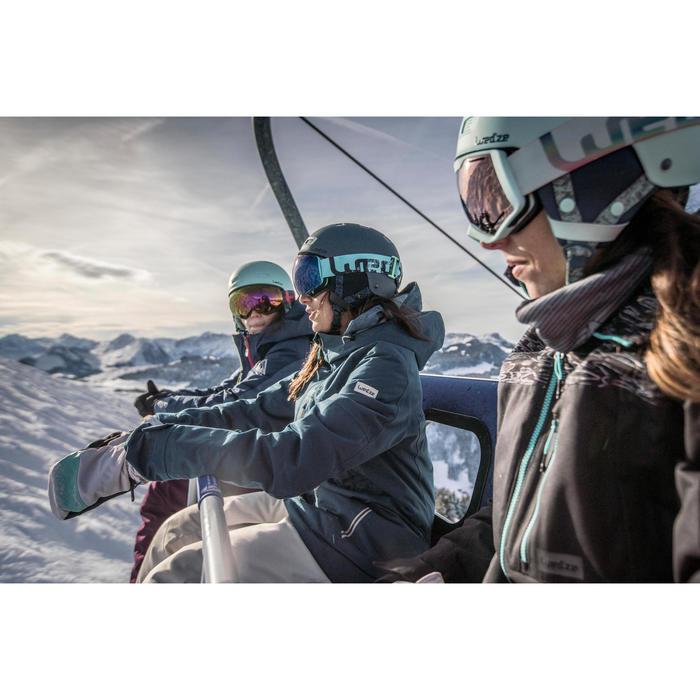 Casque de snowboard et de ski adulte et junior H-FS 300 pétrole sombre
