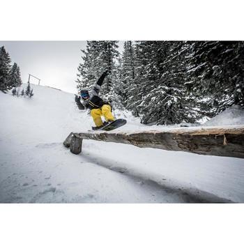 Veste de snowboard et de ski homme SNB JKT 500 print noir