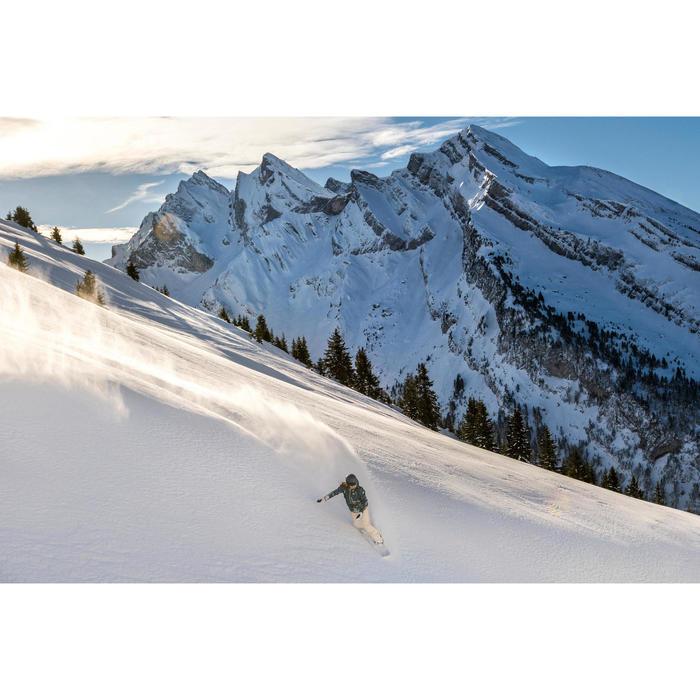 Pantalon de snowboard (et de ski) femme SNB PA 500 lin