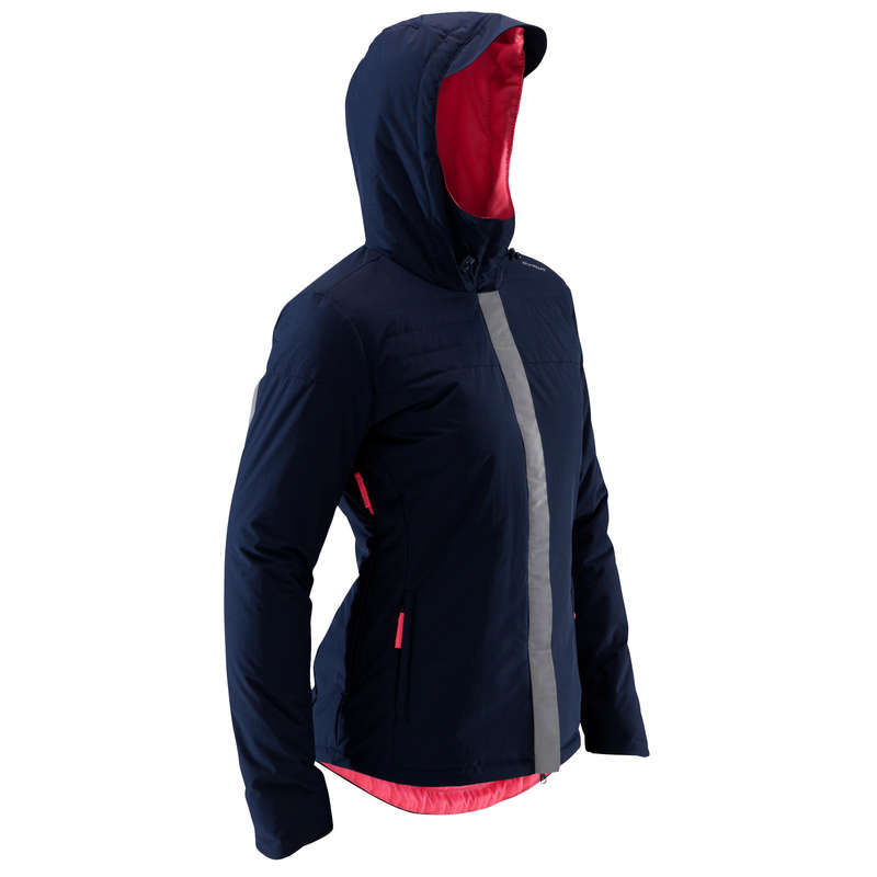 COOL WEATHER CITY CYCLING APPAREL & ACC Clothing - Cycling Warm Rain Jacket 900 W BTWIN - By Sport