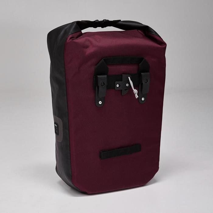 Fietstas 500 20 liter voor bagagedrager waterdicht - 1515391