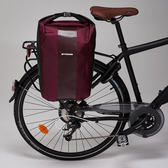 Fietstas 500 20 liter voor bagagedrager waterdicht - 1515396